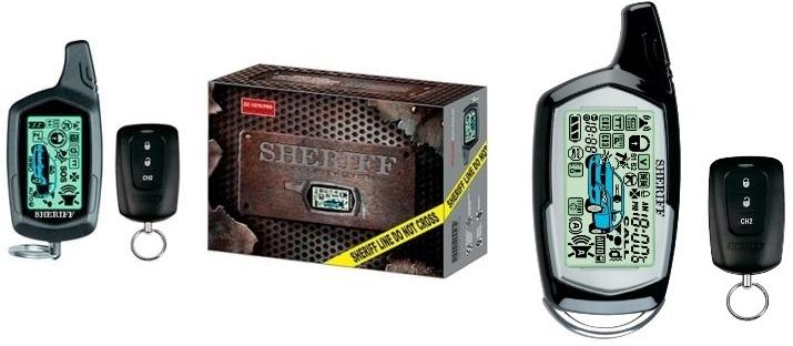 Sheriff ZX-1070PRO и ZX-1090PRO - новые двусторонние охранные системы среднего ценового диапазона с функцией автоматического запуска двигателя.