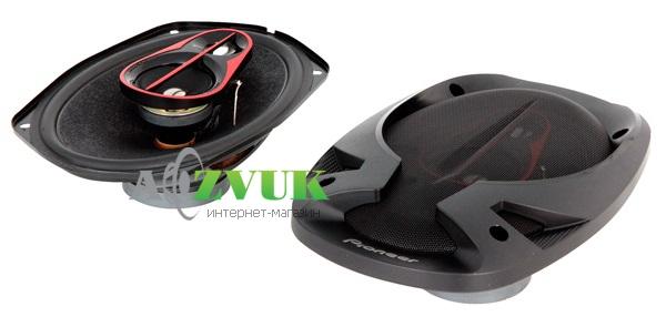 Pioneer обновляет популярную модель коаксиальных акустических систем размера 6Х9 дюймов серии DOMANNAKA.