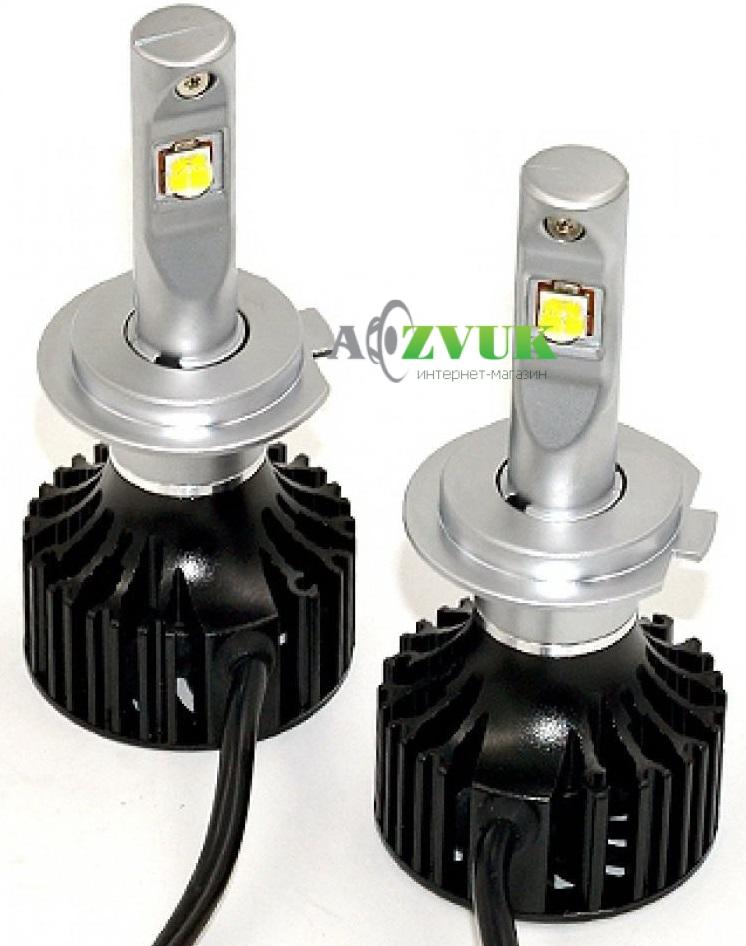 Основные недостатки светодиодных ламп для головного света авто.