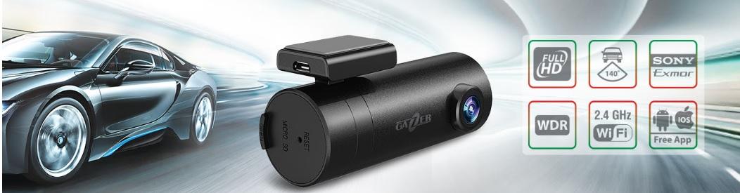 Wi-Fi регистратор Gazer F720 на базе сенсора Sony Exmor