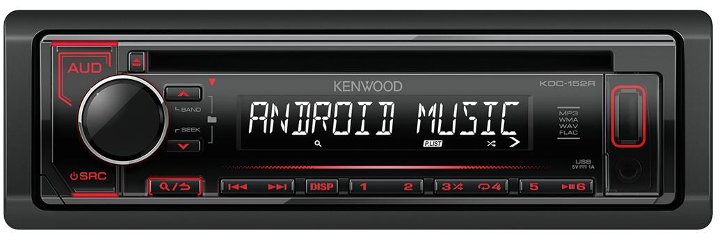 Скоро начнутся продажи нового поколения автомобильных CD/USB ресиверов KENWOOD формата 1DIN.