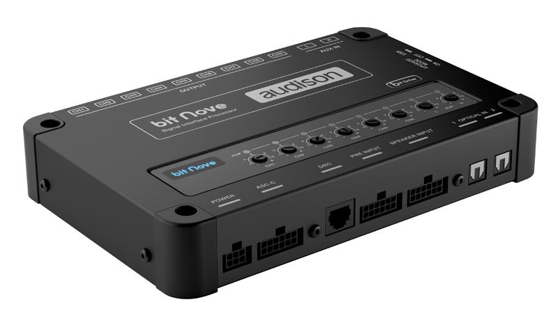 Новый аудиопроцессор Bit Nove от Audison.