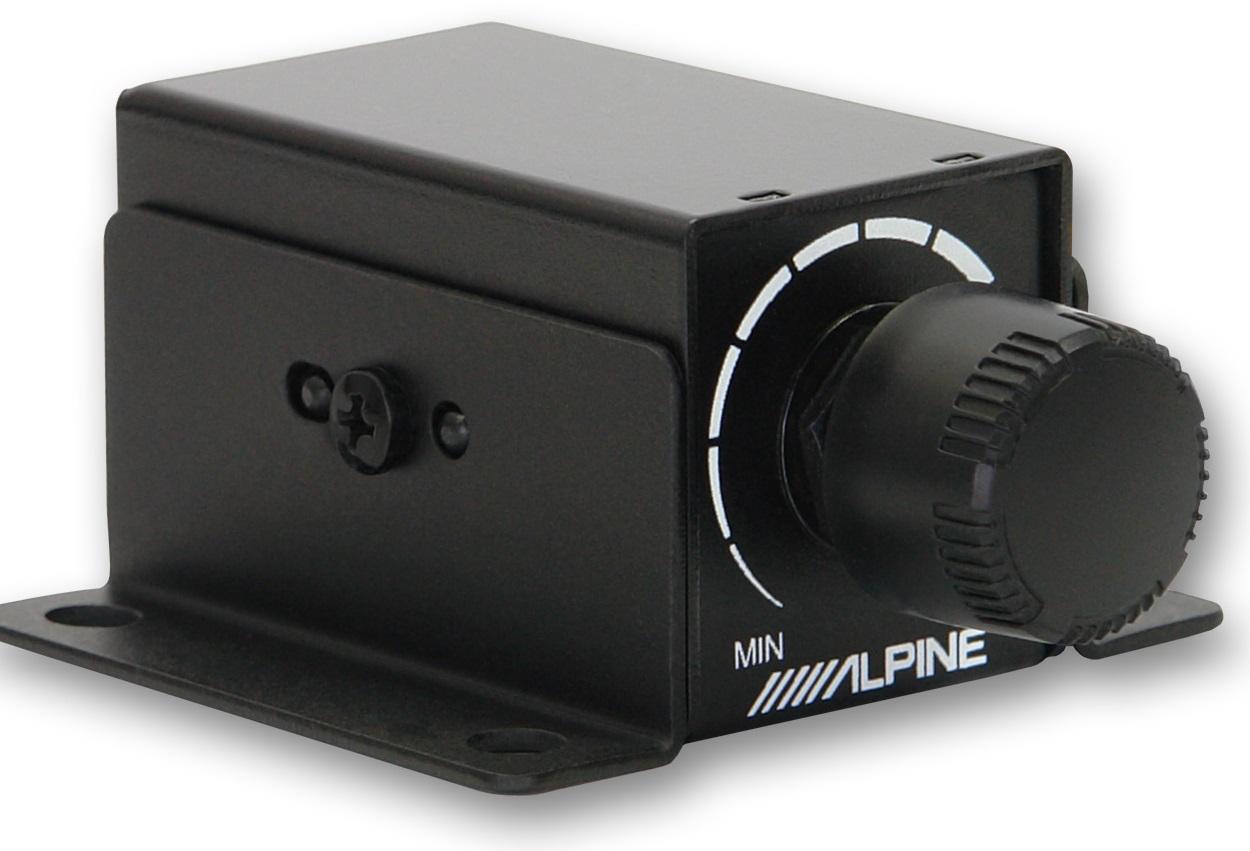 Новый дистанционный регулятор баса от компании Alpine.