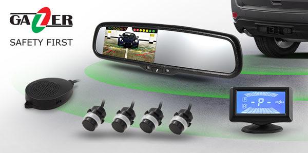 Парктроники Gazer - новый взгляд на систему парковки авто.