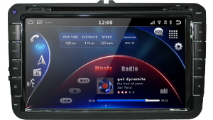 AudioSources ANS-810A Volkswagen на OS Android 4.4