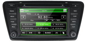 AudioSources AS-840 Skoda Octavia A7