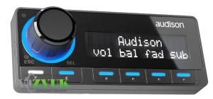 Audison DRC MP digital remote control