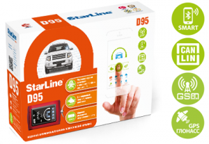StarLine D95 BT CAN+LIN GSM/GPS
