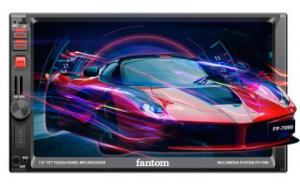 Автомагнитола DVD Fantom FP-7090 Black/Red