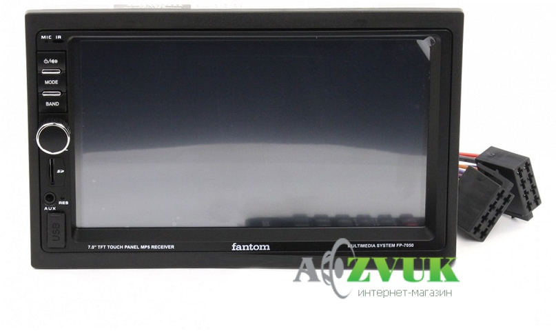 Автомагнитола DVD Fantom FP-7050 Black/Green