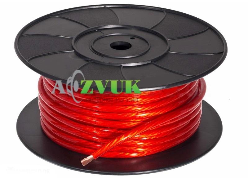 Кабель(провод) Gladen Power Cable 50 mm бухта 25 м