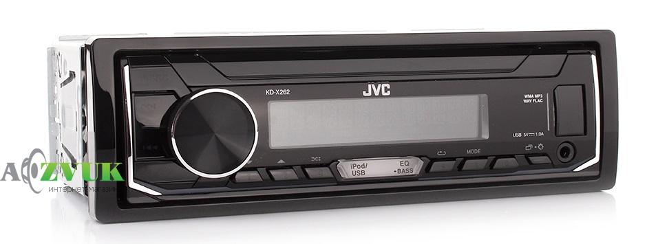 Автомагнитола 1-DIN JVC KD-X262
