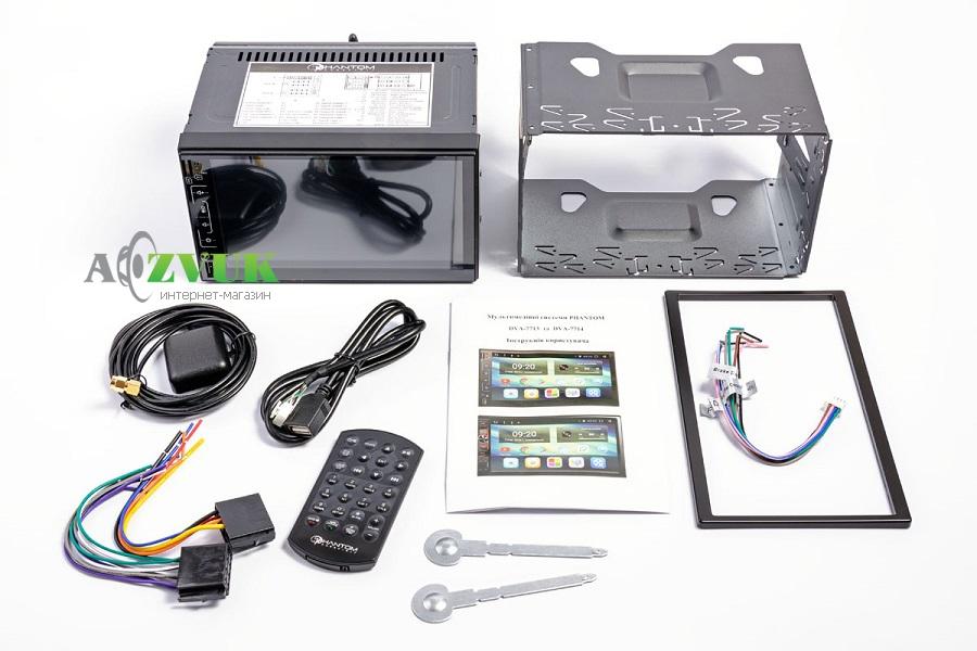 Автомагнитола DVD Phantom DVA-7713