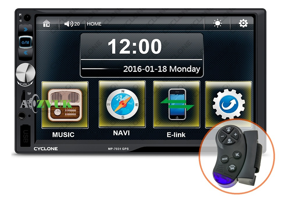 Автомагнитола DVD CYCLON MP-7031 GPS