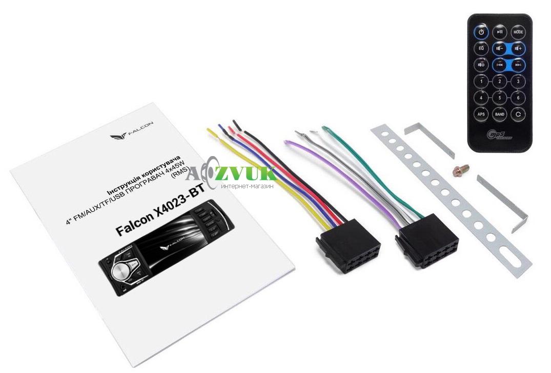 Автомагнитола DVD Falcon Х4023-ВТ