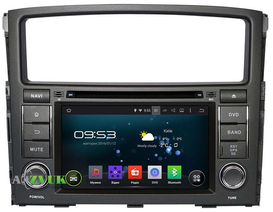 Штатная Магнитола Incar AHR-6182R Android 4.4.4 Mitsubishi Pajero Wagon c поддержкой Rockford