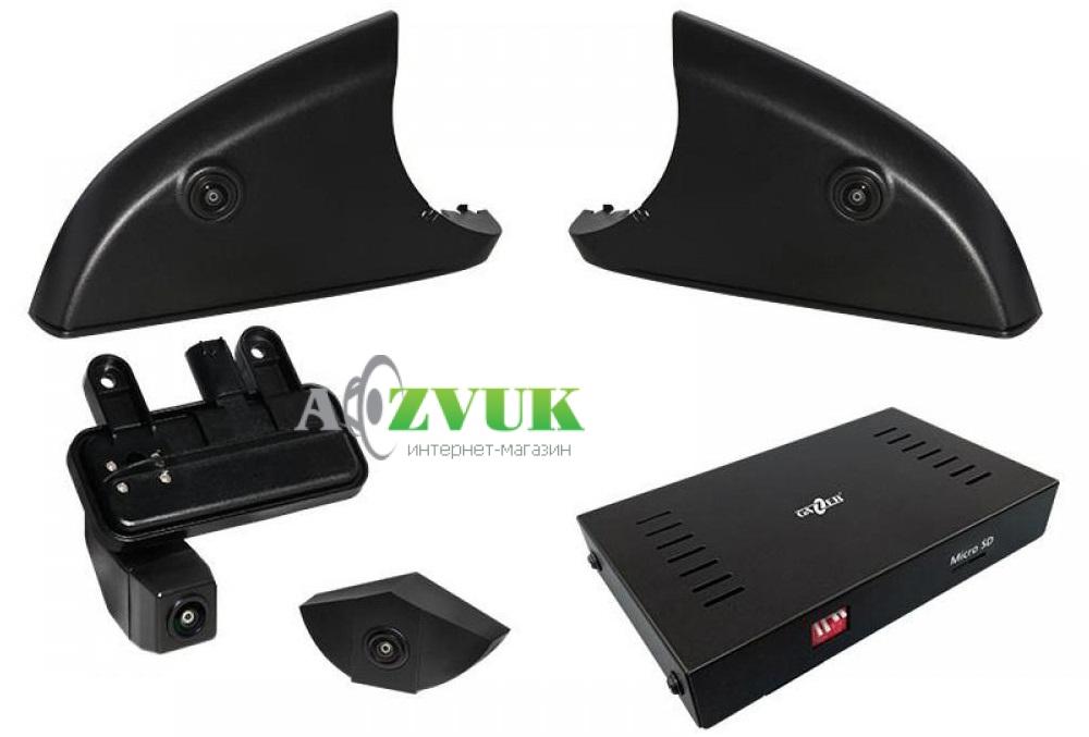 Видеорегистратор Gazer CKR4400-W212/204 (Mercedes E, C)