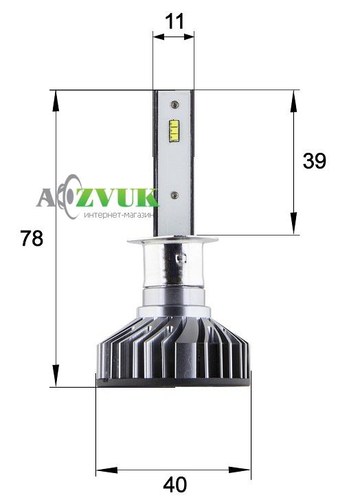 Светодиодные лампы (led) Sho-Me G6.3 H1 20W