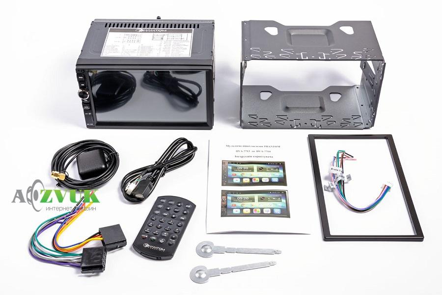 Автомагнитола DVD Phantom DVA-7714