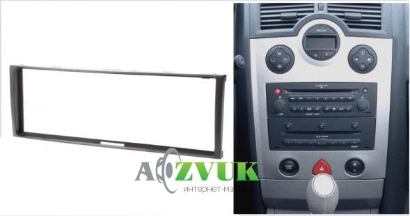 Рамка переходная Carav 11-032 Renault Clio/Modus/Megane/Scenic ->2012