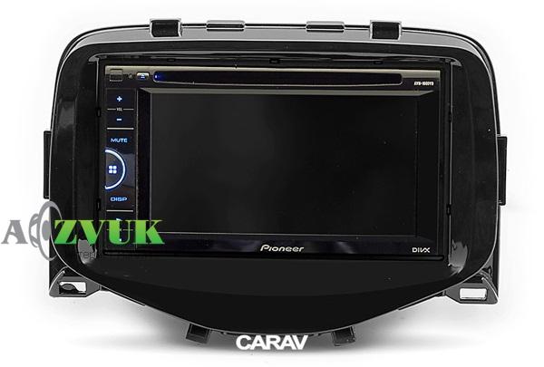 Рамка переходная Carav 11-591 Peugeot (108) 2014+/ Toyota Aygo 2014+ / Citroen C1 2014+)