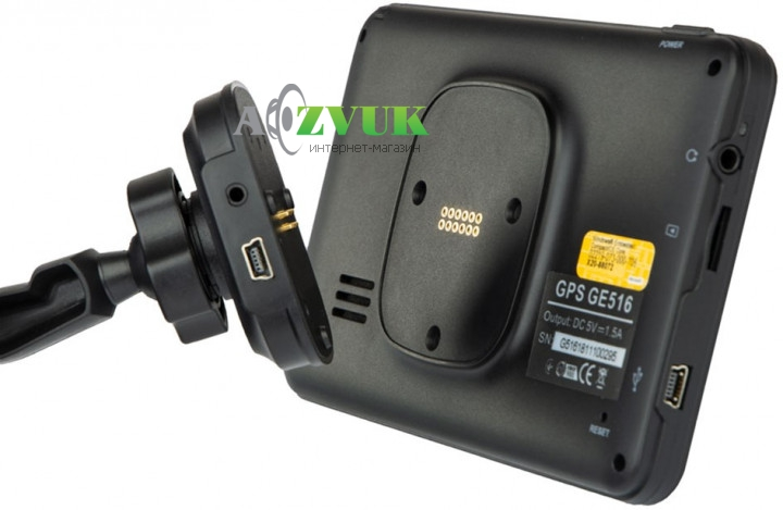 GPS навигатор Globex GE516 Magnetic