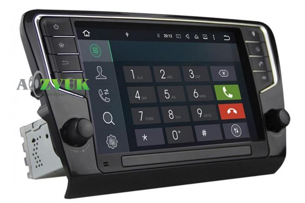 Штатная Магнитола Baxster DZT1050 Skoda Octavia A7 9 Android 7.1.2