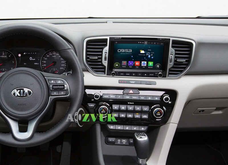 Штатная Магнитола Incar AHR-1885 Kia Sportage 2016+ (Android 5.1)