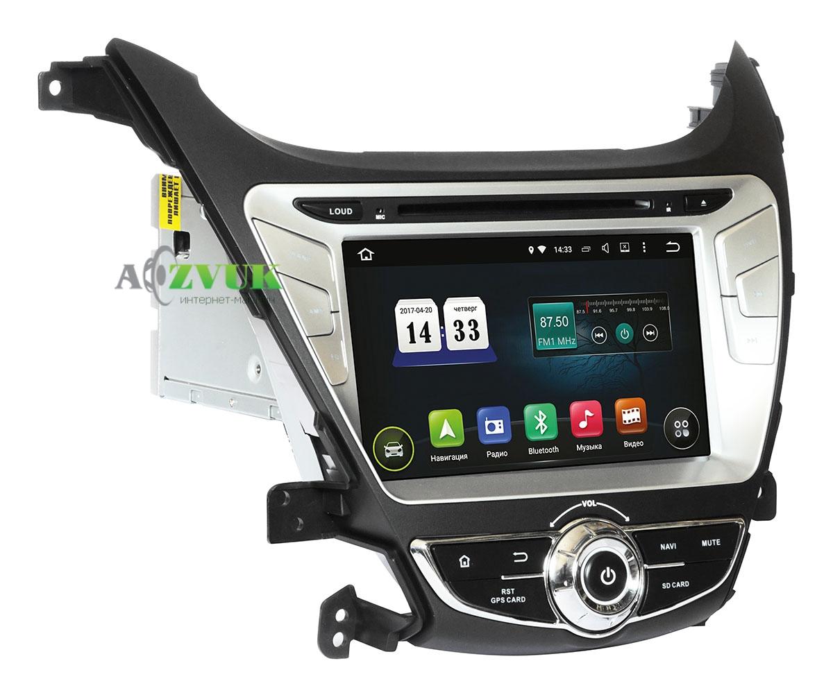 Штатная Магнитола Incar AHR-2464 Hyundai Elantra 2014+ Android 4.4.4