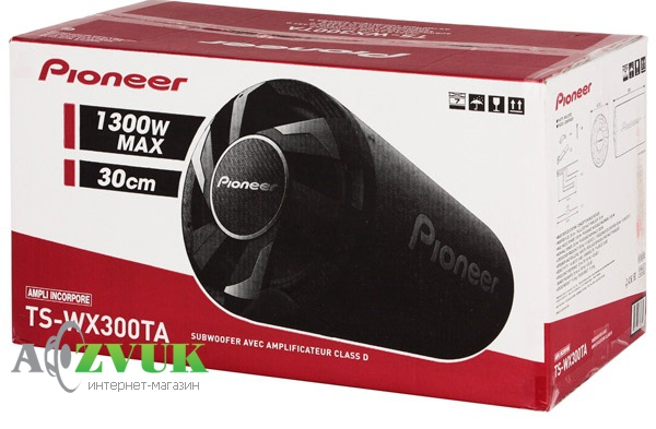Сабвуфер Pioneer TS-WX300TA