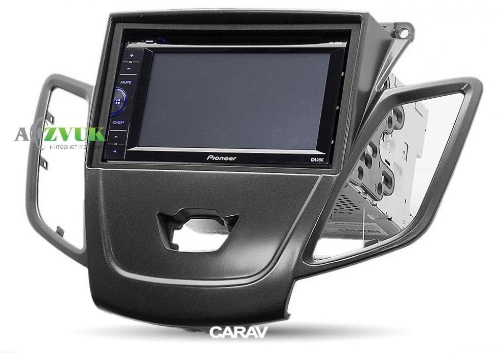 Рамка переходная Carav 11-303 Ford Fiesta 2008->2017 2-DIN