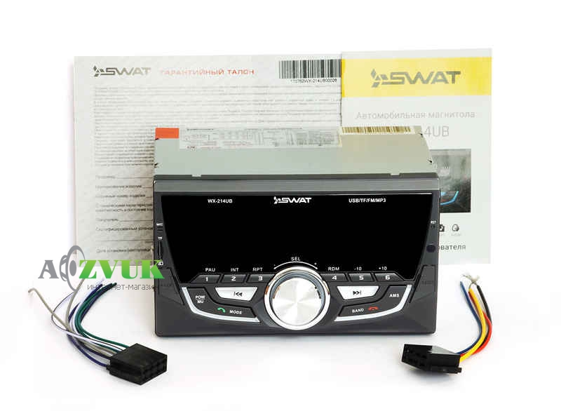 Автомагнитола 2-DIN Swat WX-214UB