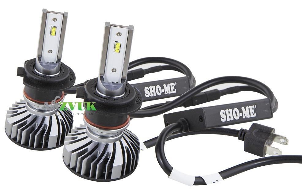 Светодиодные лампы (led) Sho-Me G6.3 H7 24W