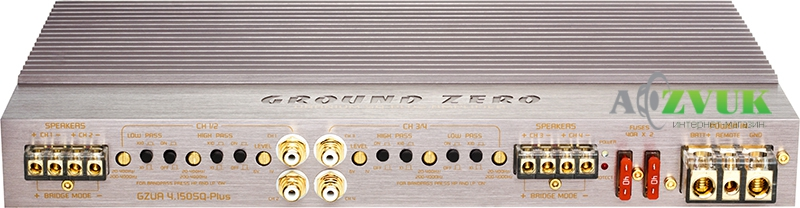 Усилитель Ground Zero GZUA 4.150SQ-PLUS