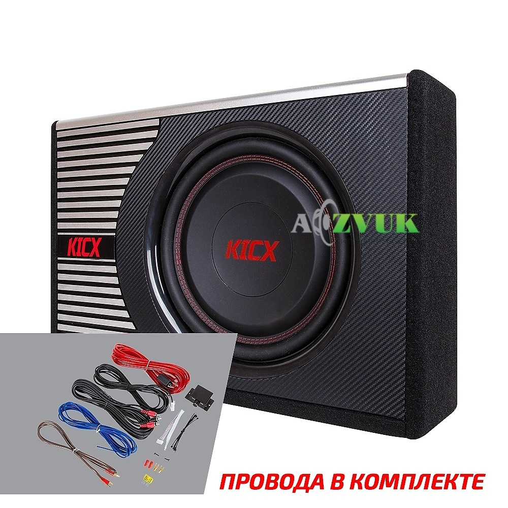 Сабвуфер Kicx GT-400BA