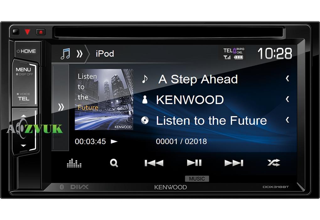 Автомагнитола DVD Kenwood DDX-318BT