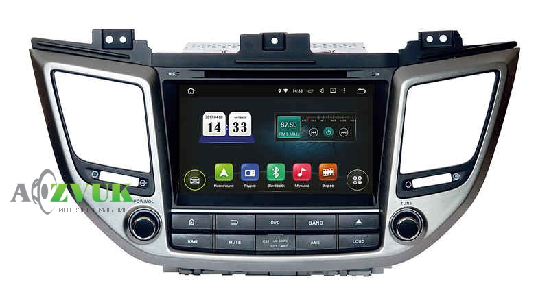 Штатная Магнитола Incar AHR-2461 Android 5.1 Hyundai ix35 2015+ ,Tucson 2015+