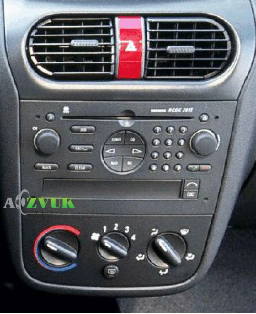 Рамка переходная Carav 11-791 Opel Vectra/Omega/Corsa/Zafira