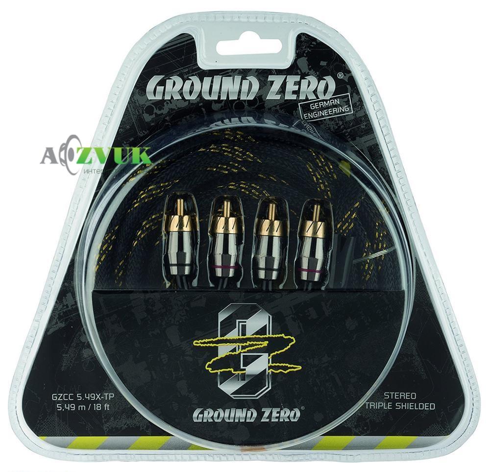 Кабель(провод) Ground Zero GZCC 5.49X-TP
