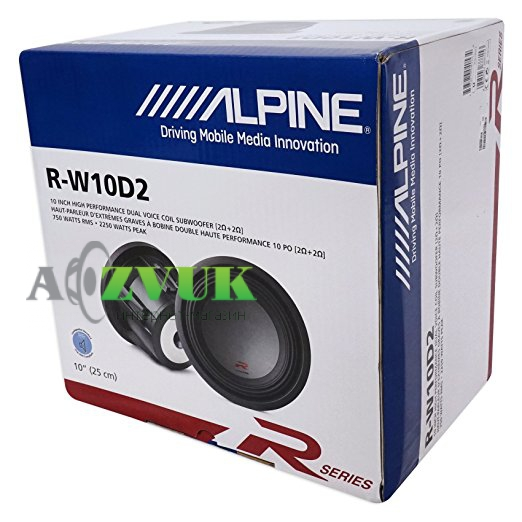 Сабвуфер Alpine R-W10D2