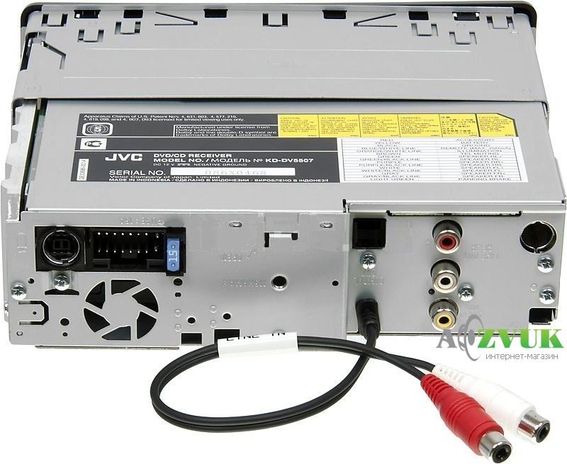 JVC KD-DV5507 У JVC, похоже,