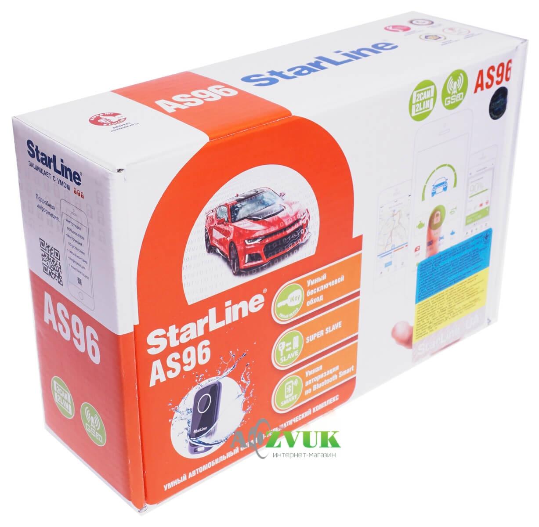Автосигнализация StarLine AS96 BT 2CAN+2LIN GSM