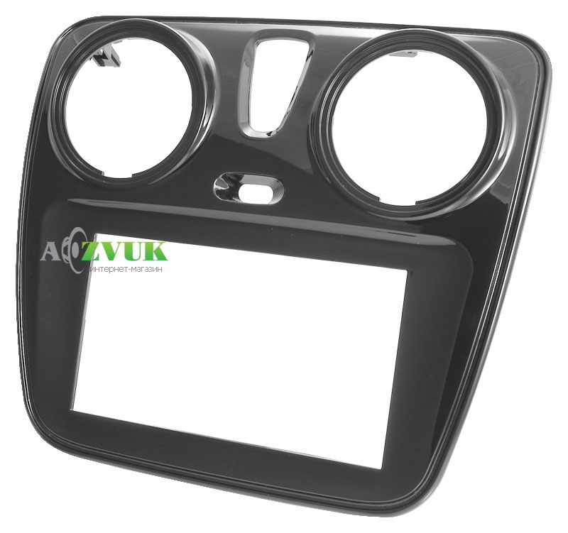 Рамка переходная AWM 781-27-105 Dacia Dokker 2012->/Duster 2013->/ Lodgy 2012->/Sandero 2013-> black