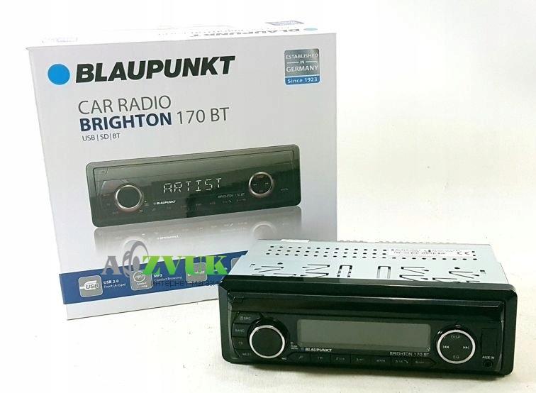 Автомагнитола 1-DIN Blaupunkt Brighton 170 BT