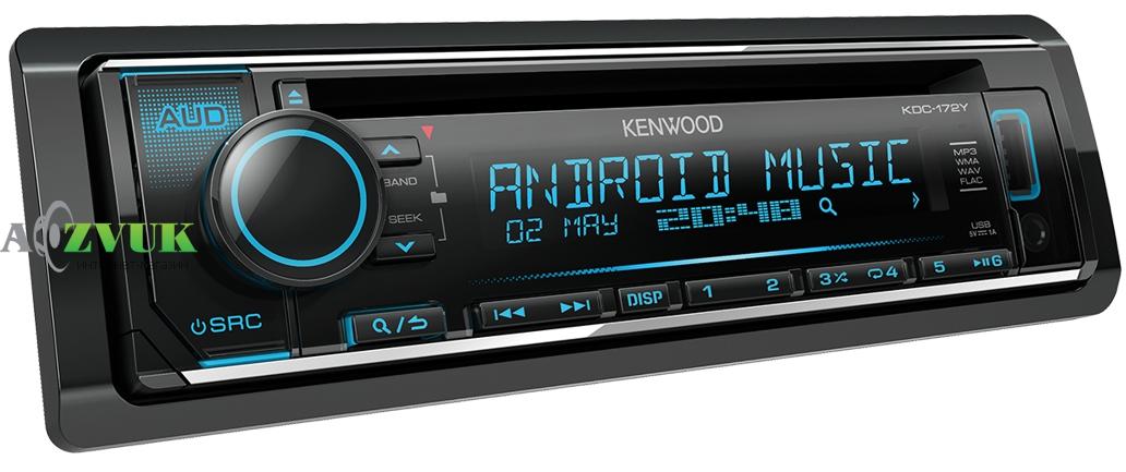Автомагнитола 1-DIN Kenwood KDC-172Y