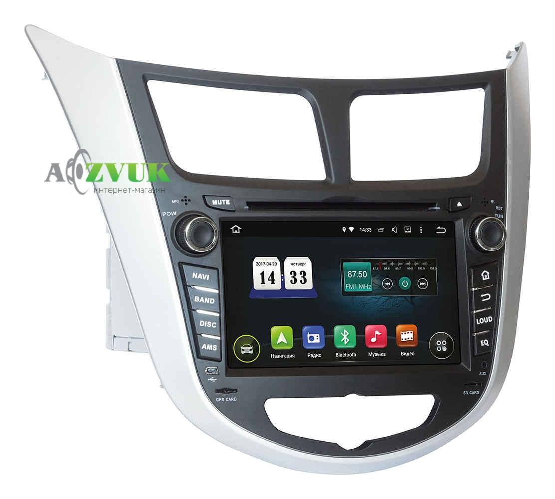 Штатная Магнитола Incar TSA-2487 Hyundai Accent 2011+