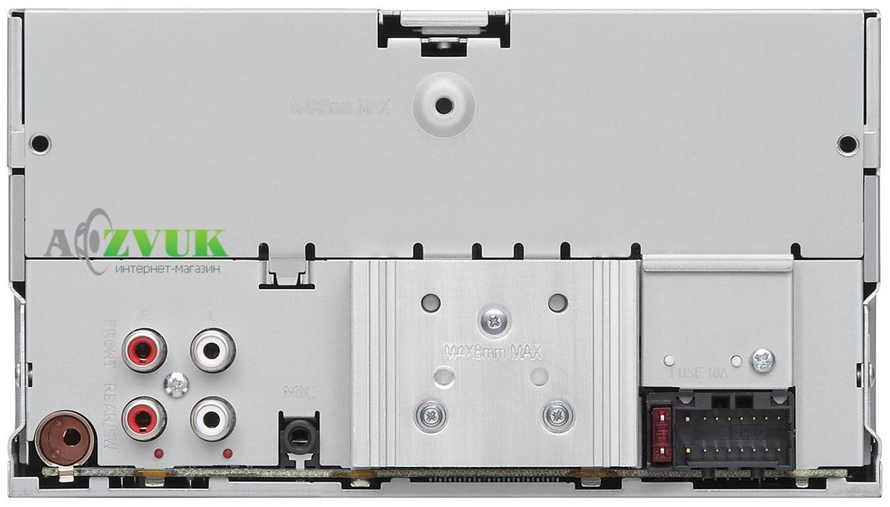 Автомагнитола 2-DIN JVC KW-R930BT