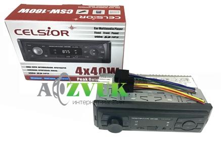 Автомагнитола 1-DIN Celsior CSW-180W