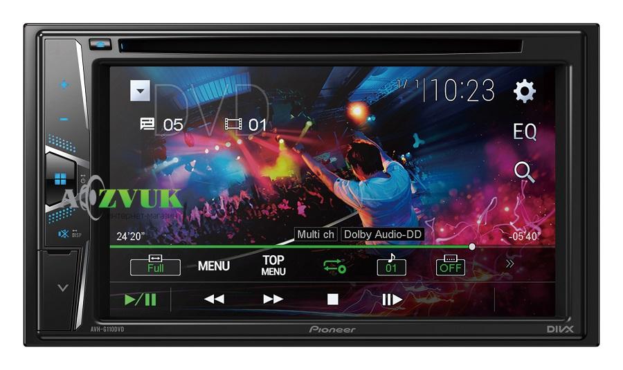 Автомагнитола DVD Pioneer AVH-G110DVD
