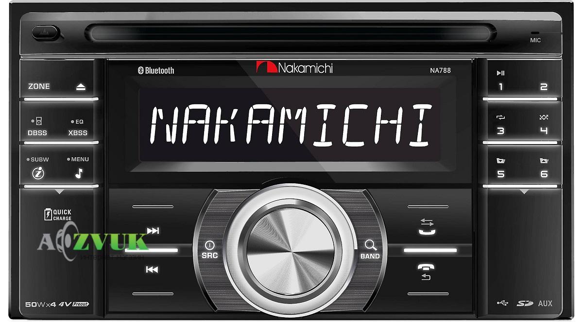 Автомагнитола 2-DIN Nakamichi NA788